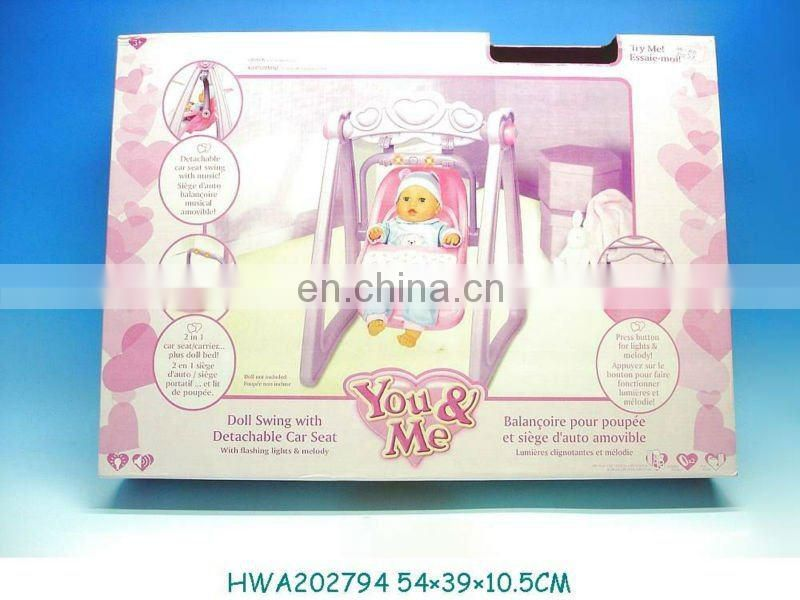 2012 New Fashion doll set with expression