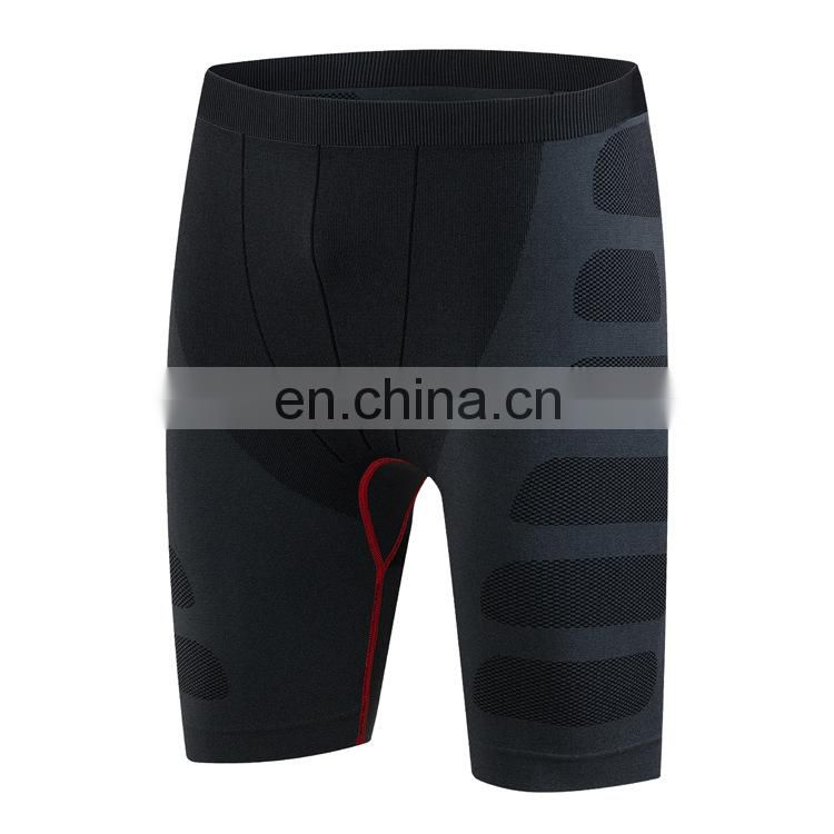 Soft wear-resisting fitness running high compression sports Men's shorts