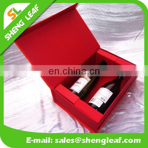 Luxury Paper Champagne Box for 2 Bottles