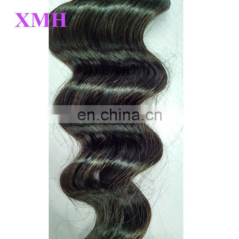 Wholesale Factory Price Tangle Free No Shedding No Dye Double Weft Virgin Brazilian Loose Deep Hair Weave