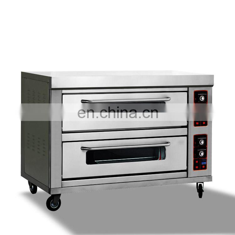 5 8 10 Trays Industrial Stainless Steel Bread Baking Commercial Electric Convection Oven