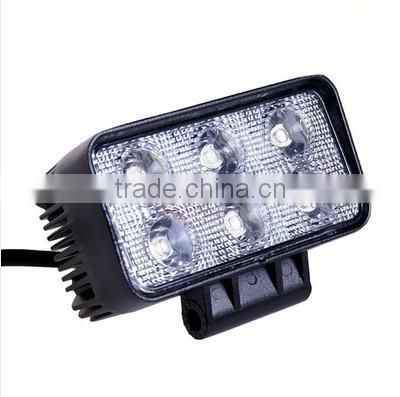 "Super bright 18W C ree working light, New Arrival 10-30V 3"" 18W tractor off-road ATV LED work light working lamp Fog light kit"