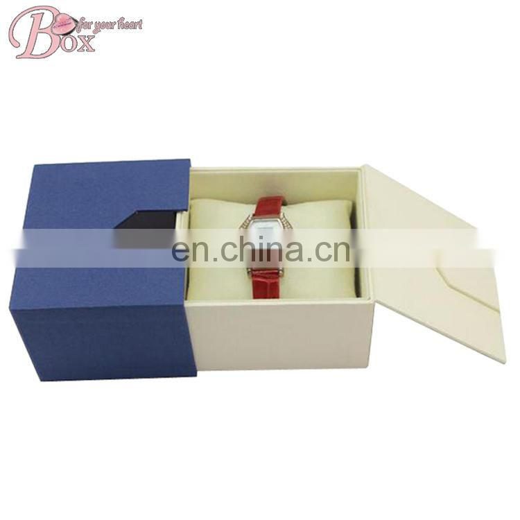 Custom Luxury Cardboard Gift Jewellery Boxes Wholesale for Watch