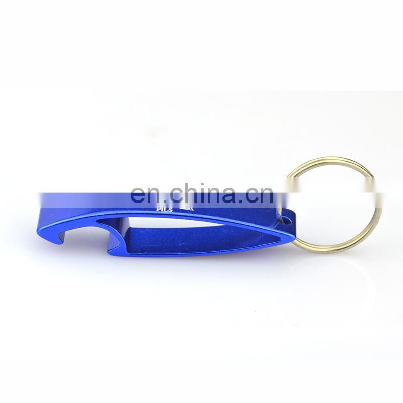 Newest fashion metal key ring bottle opener