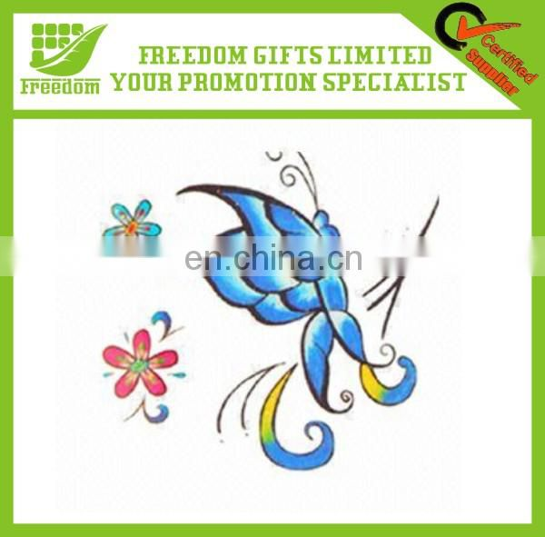 Promotional Gifts Temporary Henna Tattoo Sticker