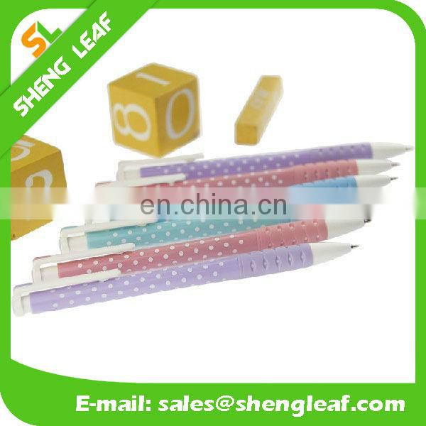 Plastic ball pen cute pen