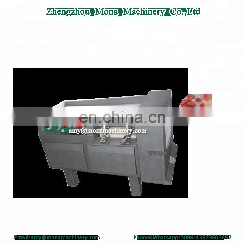 Stainless steel frozen|fresh meat dicer/meat cube cutting dicing machine Image