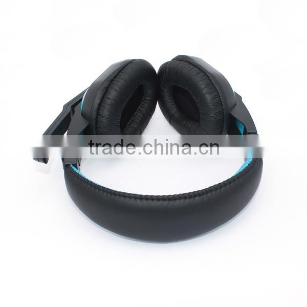 2015 new Laptop PC computer Mp3 Mp4 noise cancelling gaming headphones with detachable mic