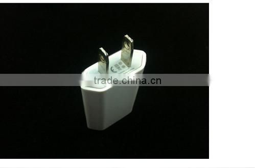 wholesale high quality AC Power Adapter US Plug Wall Charger For iPhone5 iPhone4 3G 3GS