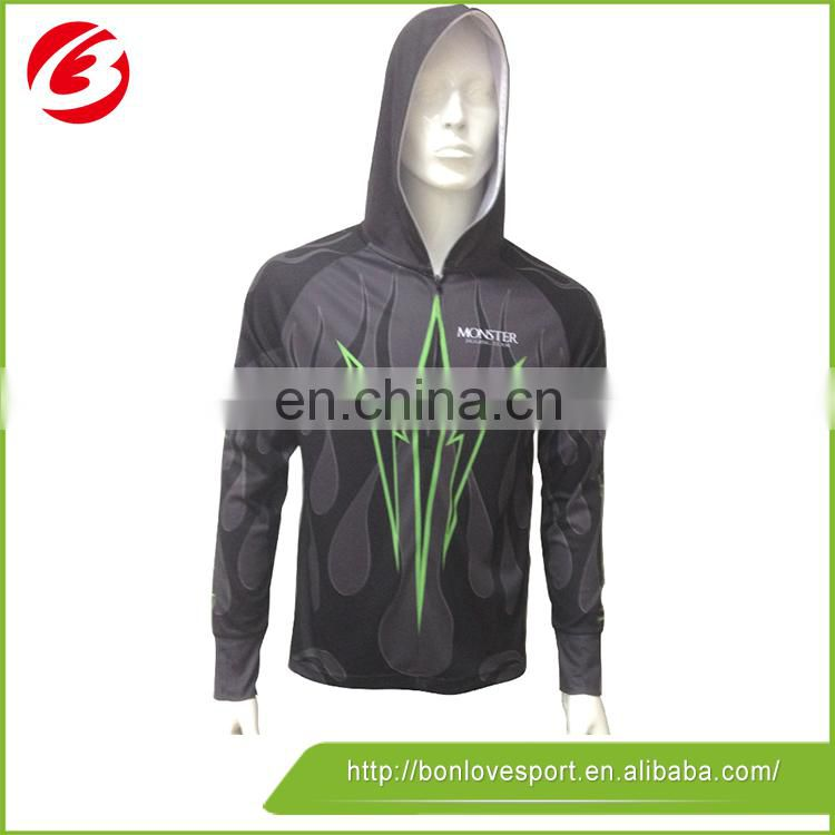 OEM Service sublimation long sleeves fishing shirts