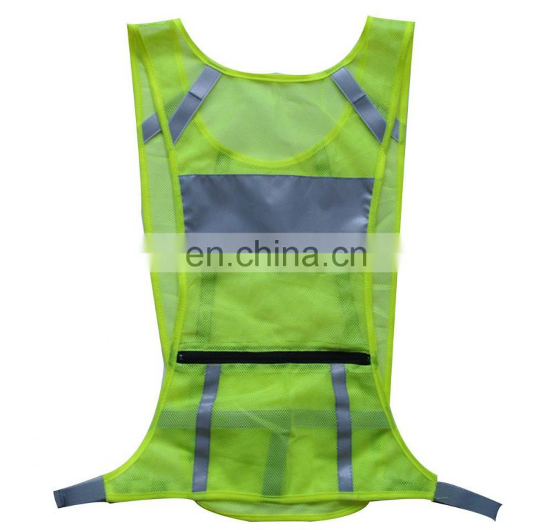 reflective training vest, reflective running vest, reflective running clothing