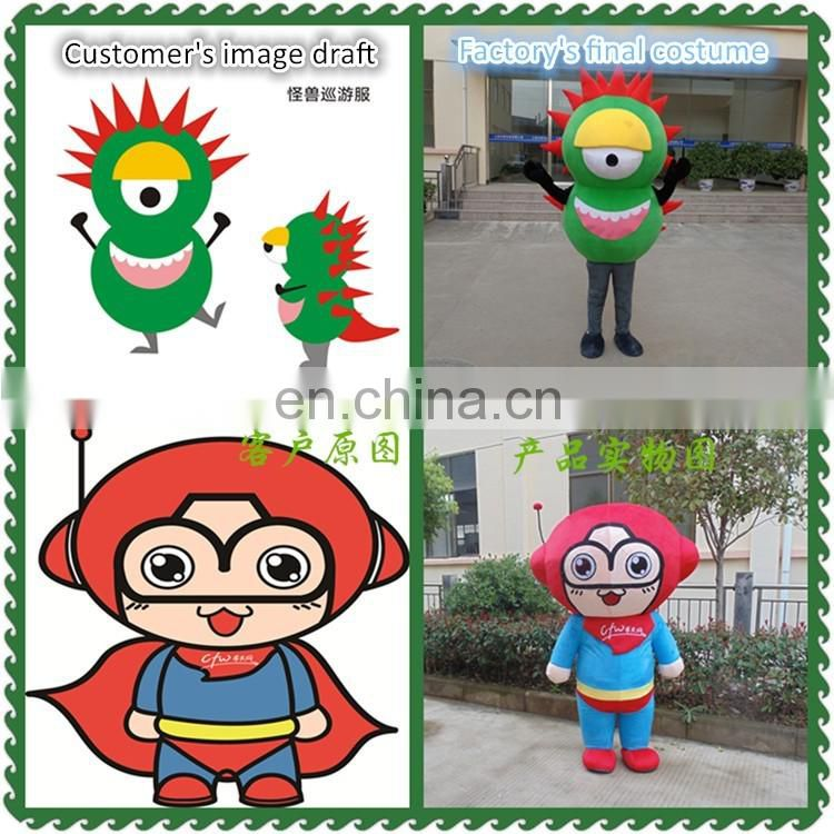China OEM factory produced easy custom Anime pocket monster costumes
