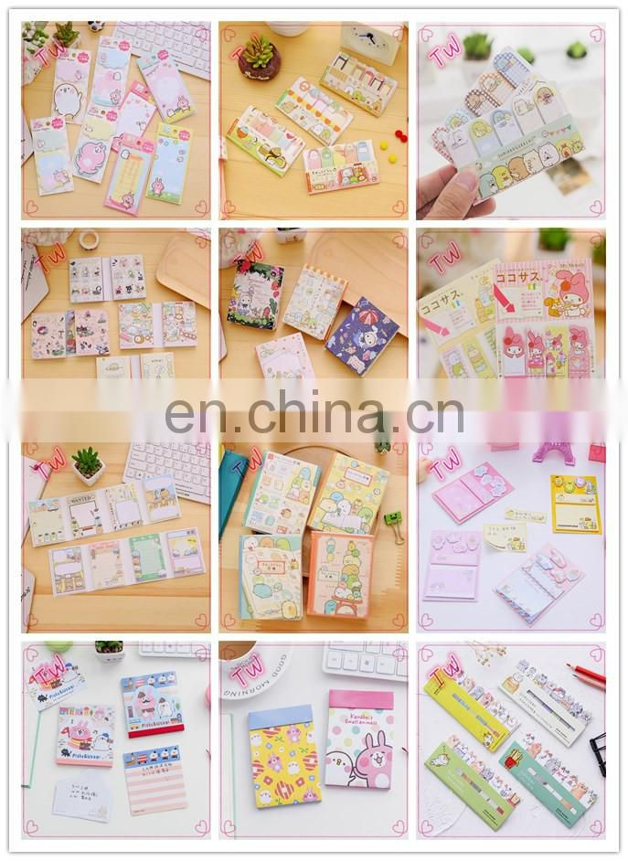 Factory directly custom office cute fancy stationery promotion gifts self-adhesive colorful paper sticky memo pad