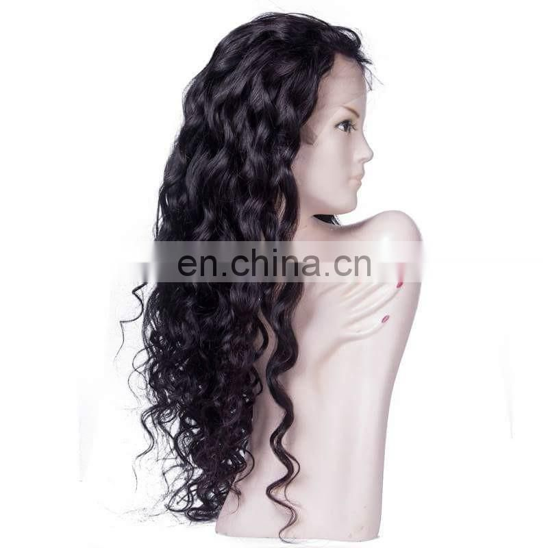 Hair factory price Large stocks fast delivery human hair full lace hair wigs for black women