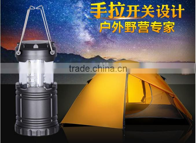 Outdoor Camping Multi-functional Portable Emergency USB Rechargeable Bright LED Light Lamp Flashlight