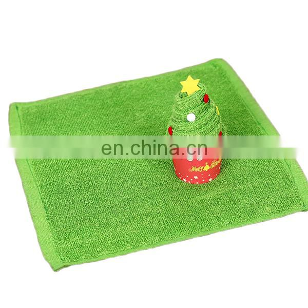 Christmas decoration cotton gift cake towel