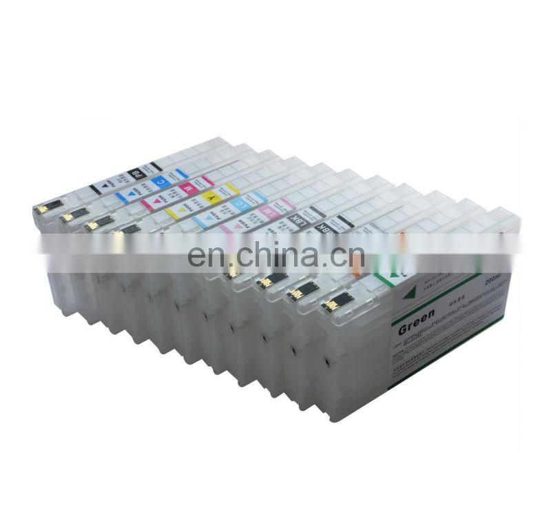 2017 New Empty For Epson 4900 4910 Refilled Ink Cartridge with auto reset chips