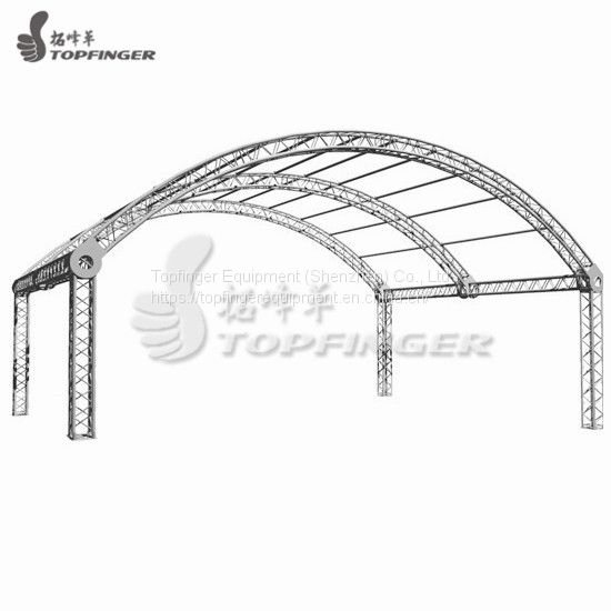 High Quality Dj Stand Layer Flat Aluminum Tv Lift Roof Truss Image