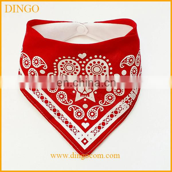 china supplier cheap cotton triangle bandana Baby Bibs wholesale