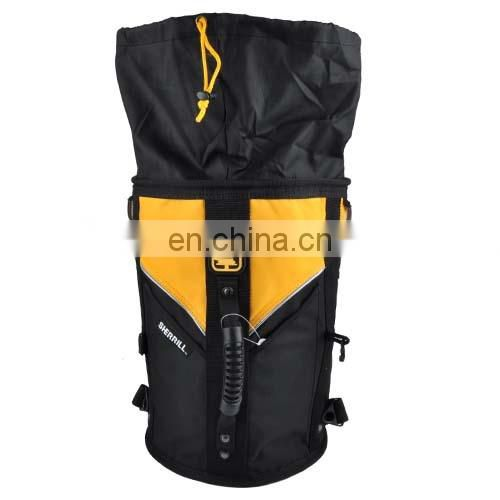 Adventure backpack for climbing