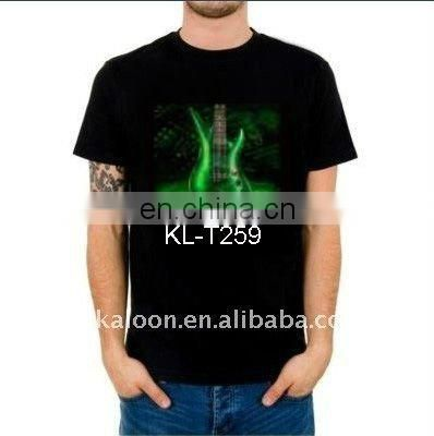 light up tee shirts equalizer