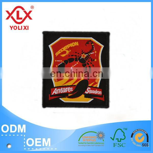Competitive price woven badge for clothing