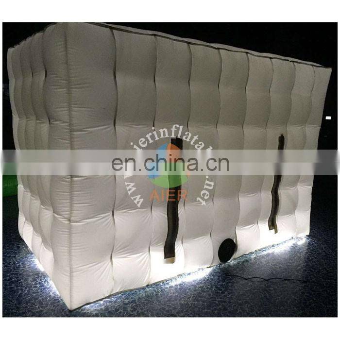 Hot sale Led light Inflatable Photo booth