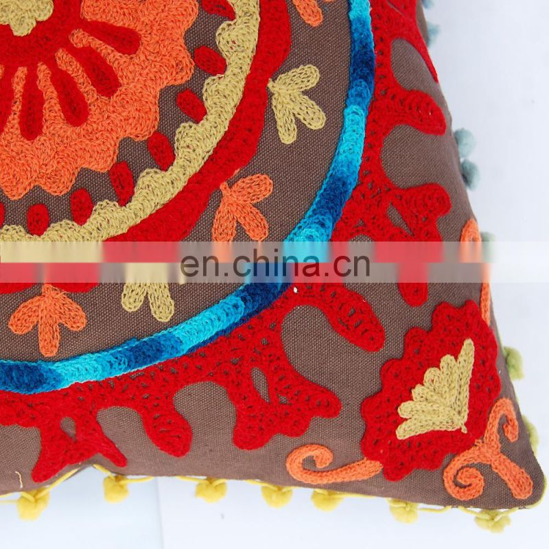 Round mandala Cushion Cover SSTH$657