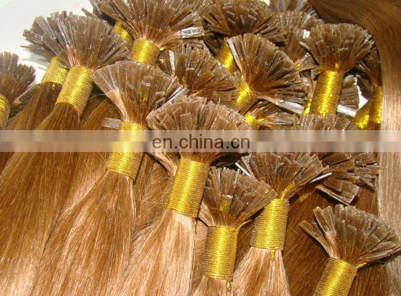 made in china wholesale AAAA grade double drawn Peruvian remy i-tip/u-tip/flat-tip Pre-bonded human hair extension