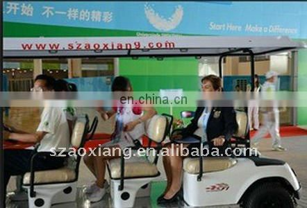 Classic 12 Seater Electric Passenger Bus, 3KW 48V Electric Bus for 26TH Summer Universiade| CE Certified | AX-B9+3