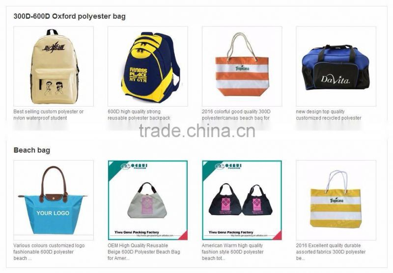 high quality cheap promotioinal pp woven bag