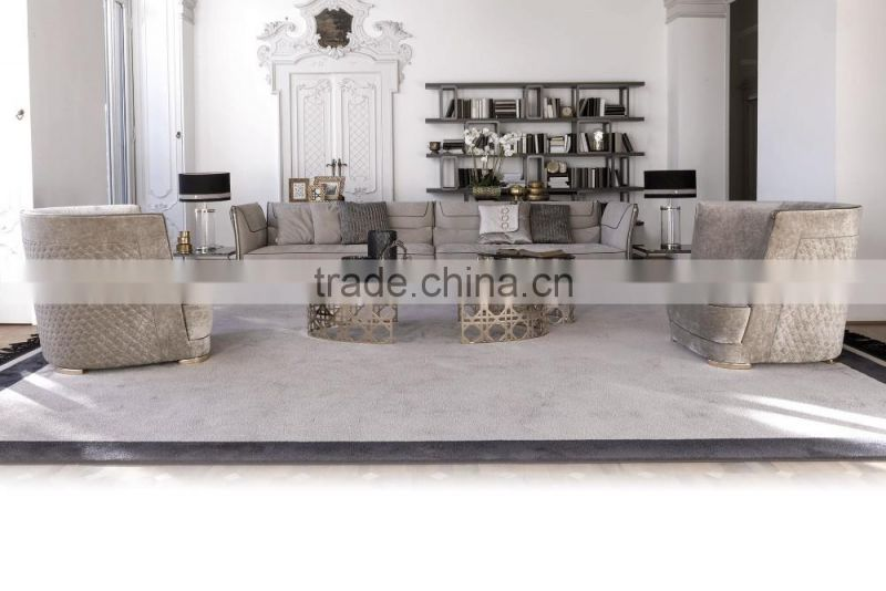 Italy style living room sectional sofa set post modern design