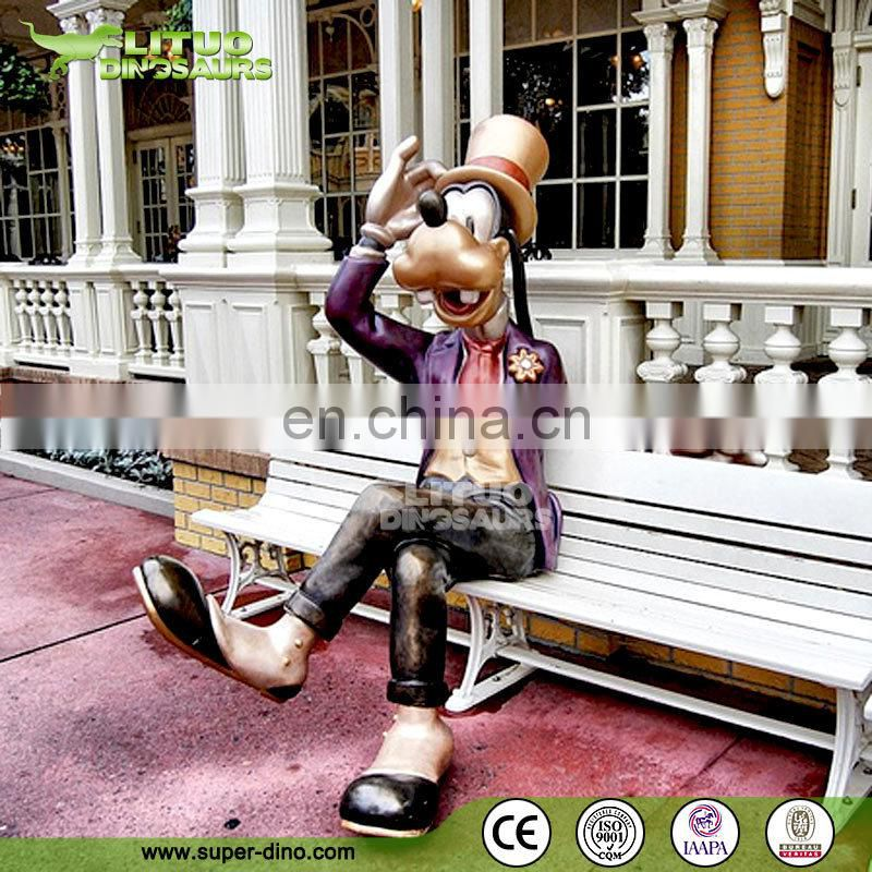 Park Attractions Statue Cartoon Character