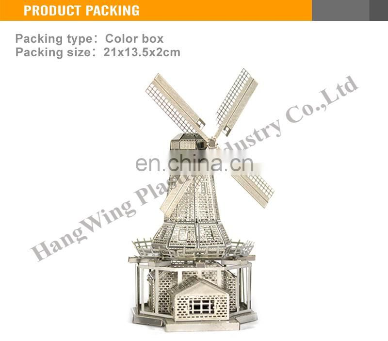 Interesting 3D Metal Toys windmill model