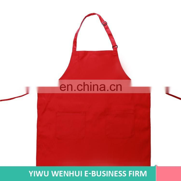 Most popular good quality polyester and cotton print denim apron with good prices