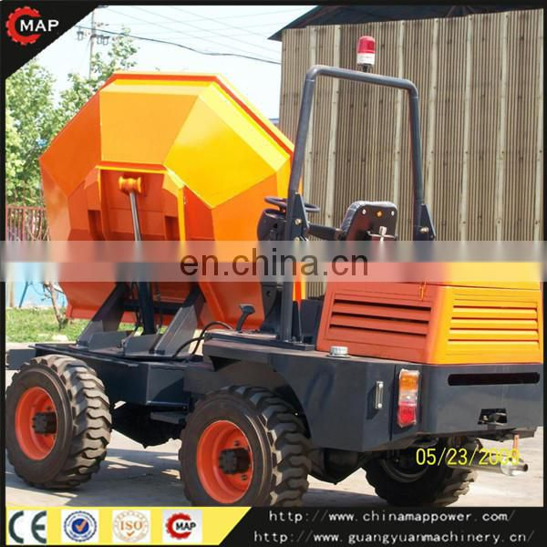 180 turn Bucket mini dumper 3 ton