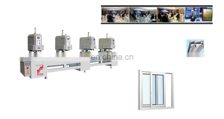 4 _ head seamless welding machine aluminum extrusion calgary c channel building blocks With Bottom Price