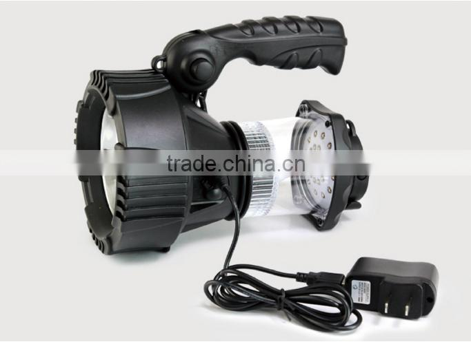 (160423) Outdoor ABS plastic rechargeable portable work lamp spotlight searchlight