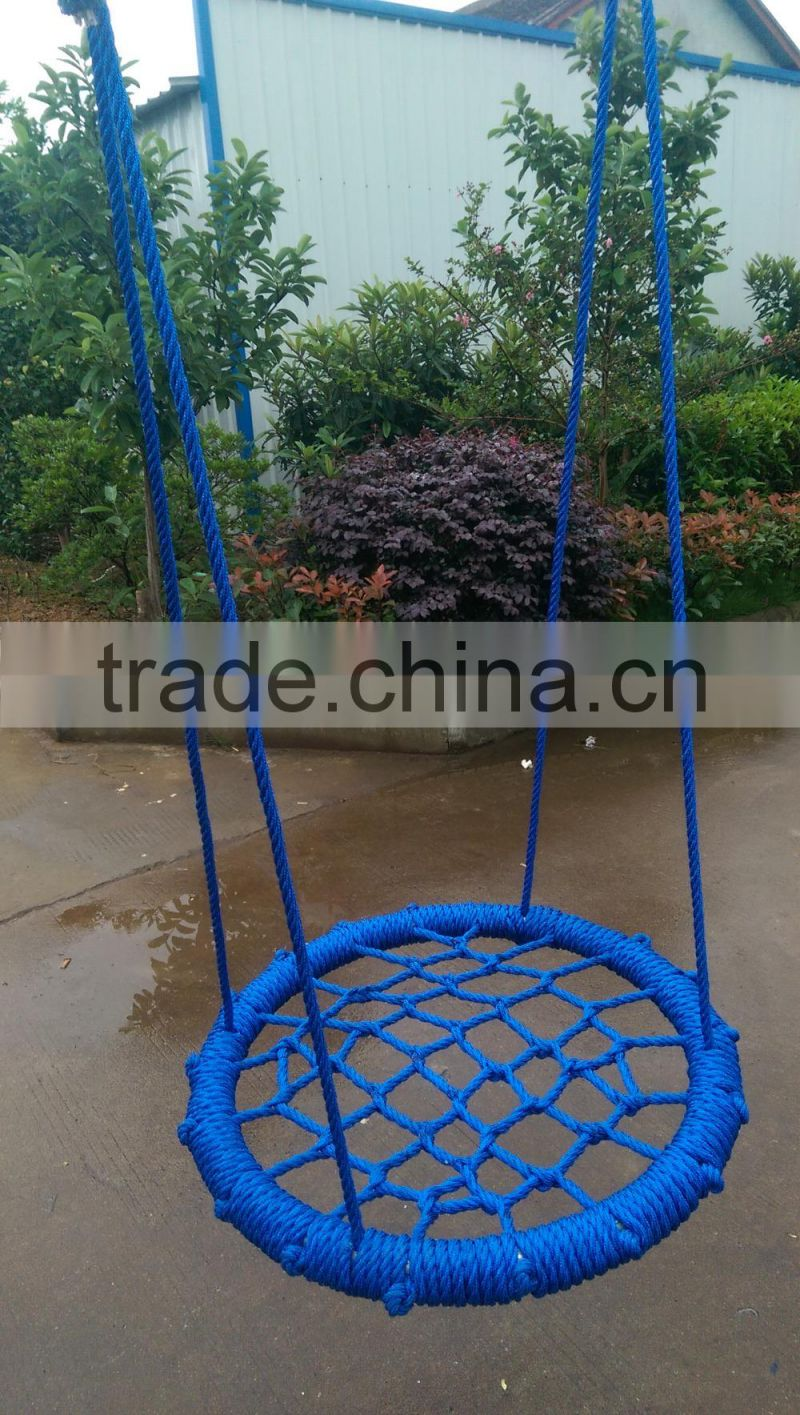 round metal swing for children net swing outdoor swing sets for kids