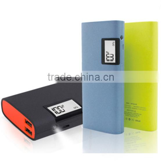 New battery hot power bank cell phone charger 11000mah with LCD display