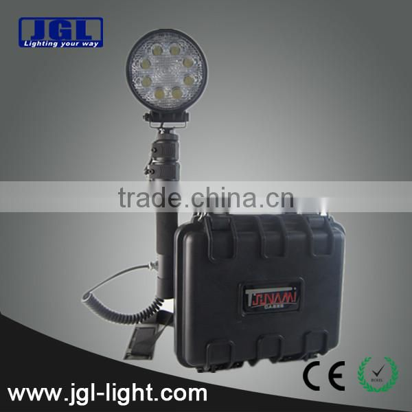 For extreme bright LED Work Light Model RLS-24W rechargeable cree led spotlight