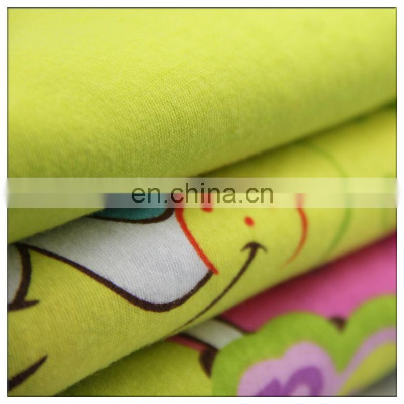 100% cotton jersey fabric fashion design for lady's dress
