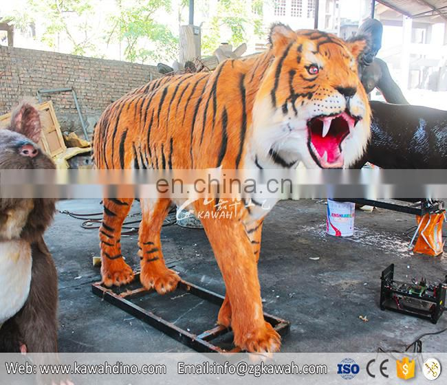 KAWAH Realistic Animatronic Remote Control Tiger