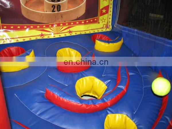 great funny Inflatable Skee Ball Game