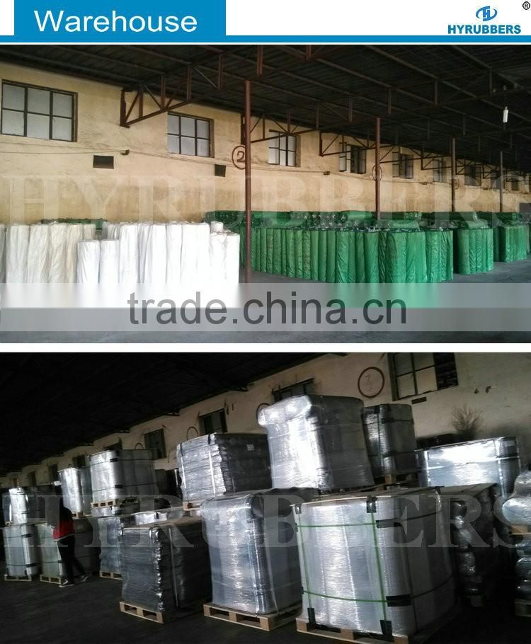 Clear rubber sheet china supplier