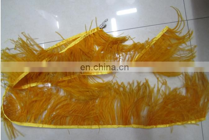 one yard quality and delivvery time assured ostrich feather trim