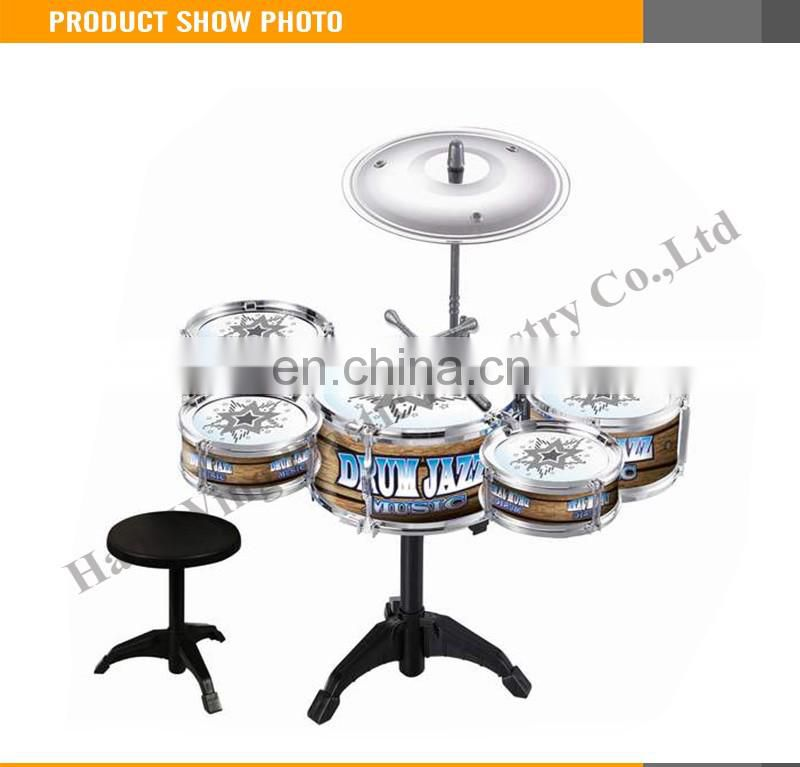 Popular kids play drum set professional children marching bass drum