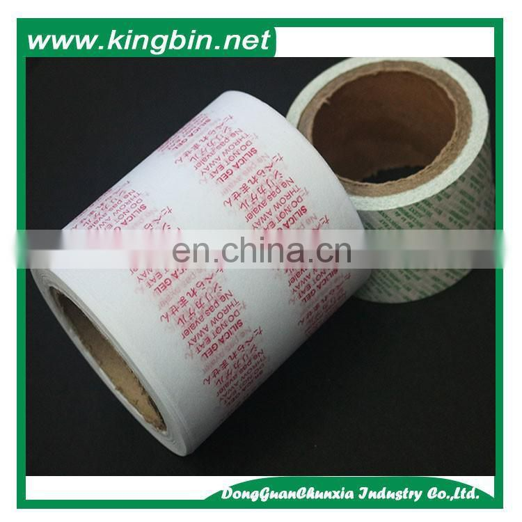 Custom Desiccant Packing Paper /Silica Gel Packing Paper