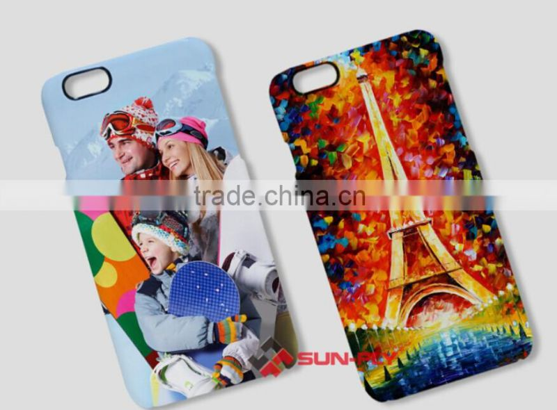 Newest 3D sublimation phone cases for iphone 6/3Dblank film sublimation cases for iphone 6/sublimation phone cases for iphone 6