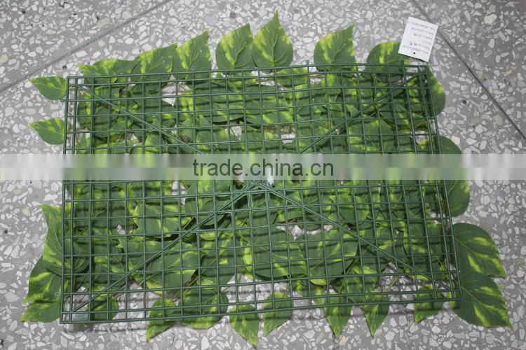 boxwood hedge mat plastic green UV protection artificial foliage